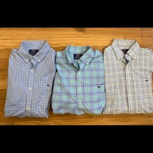 Men's Vineyard Vines Shirt Bundle, Size Medium